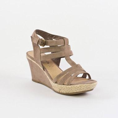 Famme Nu pieds tamaris orbronze 28187 chaussures d'ete