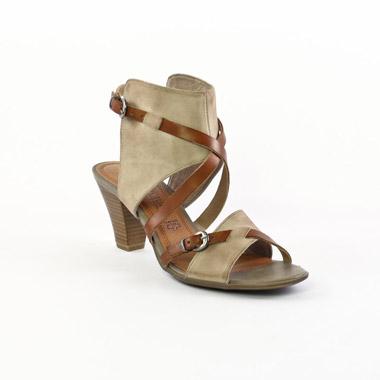 Nu Pieds Et Sandales Marco Tozzi 28351 Taupe, vue principale de la  chaussure femme 7d1855cb98fa