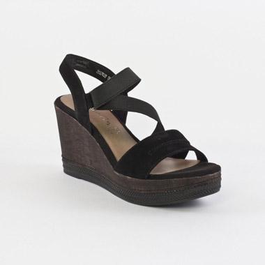 tamaris 28376 black nu pied talon hauts noir printemps t chez trois par 3. Black Bedroom Furniture Sets. Home Design Ideas