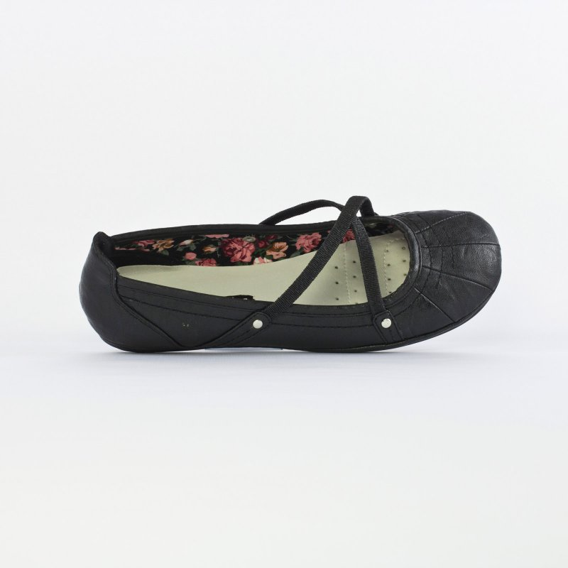 marco tozzi 22106 black ballerine brides noir printemps t chez trois par 3. Black Bedroom Furniture Sets. Home Design Ideas