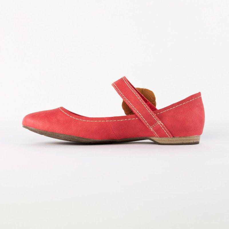 marco tozzi 22113 chili ballerine brides rouge printemps t chez trois par 3. Black Bedroom Furniture Sets. Home Design Ideas