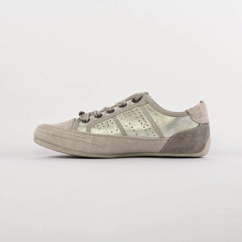 chaussures tennis cuir femme