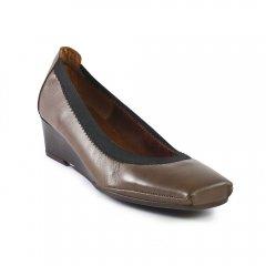 Chaussures femme hiver 2012 - babies compensées flora schisina beige