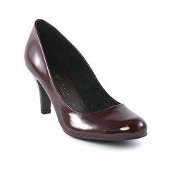 Chaussures femme hiver 2012 - escarpins marco tozzi rouge bordeaux