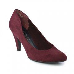 Chaussures femme hiver 2012 - escarpins marco tozzi rouge vin