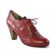 low-boots rouge: même style de chaussures en ligne pour femmes que les Spm