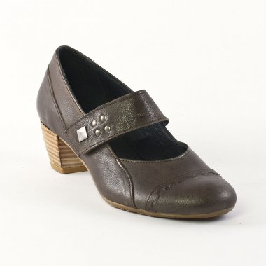 Babies Scarlatine 7308 Taupe, vue principale de la chaussure femme