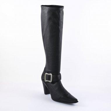 Bottes Fugitive Aboi Veau Noir, vue principale de la chaussure femme