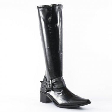 fugitive basto metis noir botte chaussettes noir automne hiver chez trois par 3. Black Bedroom Furniture Sets. Home Design Ideas