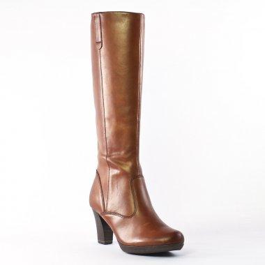 Tamaris 25812 Nut | bottes marron automne hiver chez TROIS PAR 3