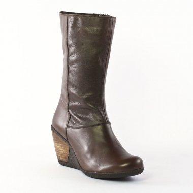 Bottes Scarlatine 3282 Marron, vue principale de la chaussure femme