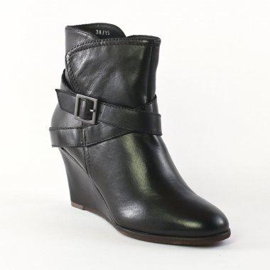 Bottines Et Boots Spm Neta Black, vue principale de la chaussure femme