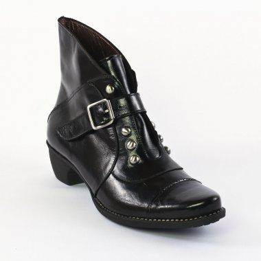 scarlatine 3099 vernis noir bottines noir automne hiver chez trois par 3. Black Bedroom Furniture Sets. Home Design Ideas