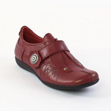 Chaussures À Lacets Scarlatine 2131 Rouge, vue principale de la chaussure femme