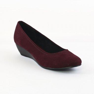 Chaussures rouge bordeaux femme D0qWSLa3U