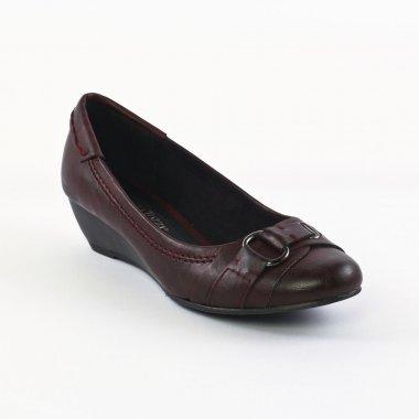 Escarpins Marco Tozzi 22301 Burgendy, vue principale de la chaussure femme