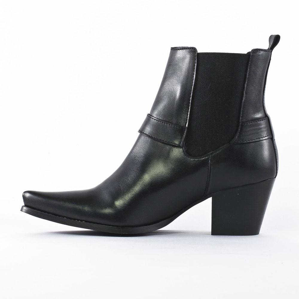 flora schisina 1348a noir boots noir automne hiver chez. Black Bedroom Furniture Sets. Home Design Ideas