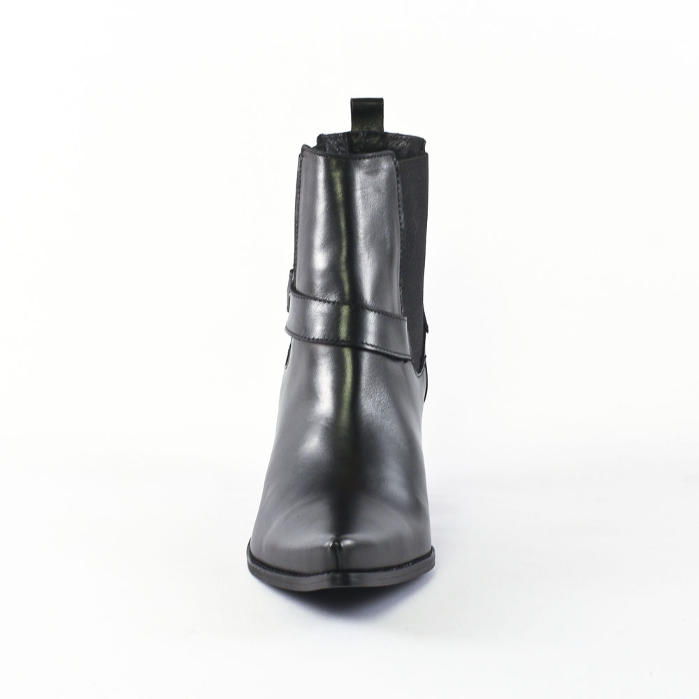 Extraordinaire Flora Schisina 1348A Noir   boots noir automne hiver chez TROIS PAR 3 &YY_83
