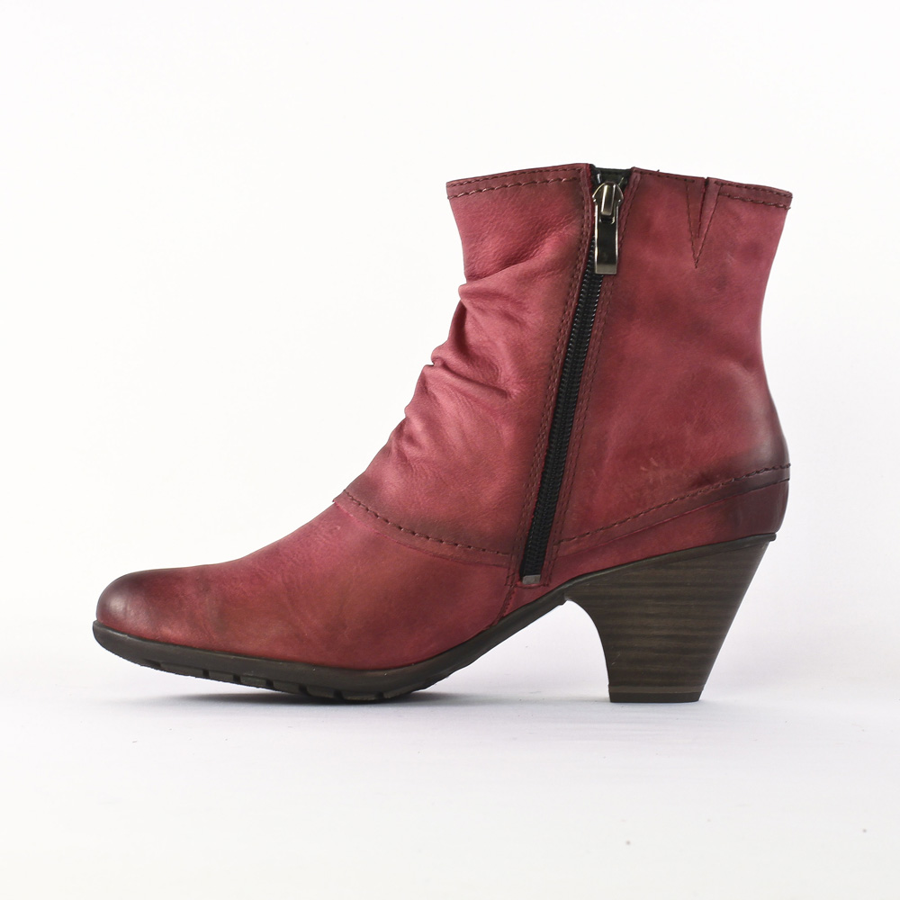 Marco Tozzi Bottes pour Femme - Rouge - Bordeaux ZqATZm6r,
