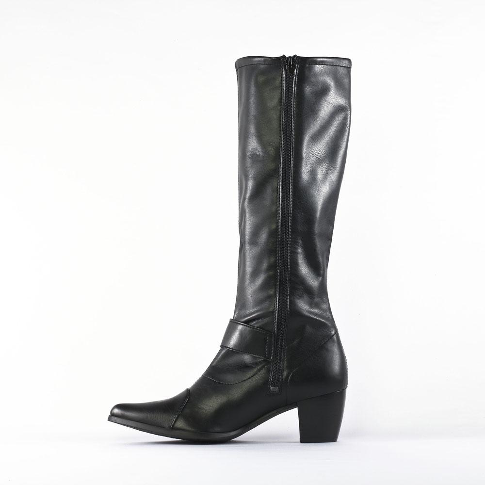 tamaris 25555 black matt   botte cavalières noir mat automne hiver