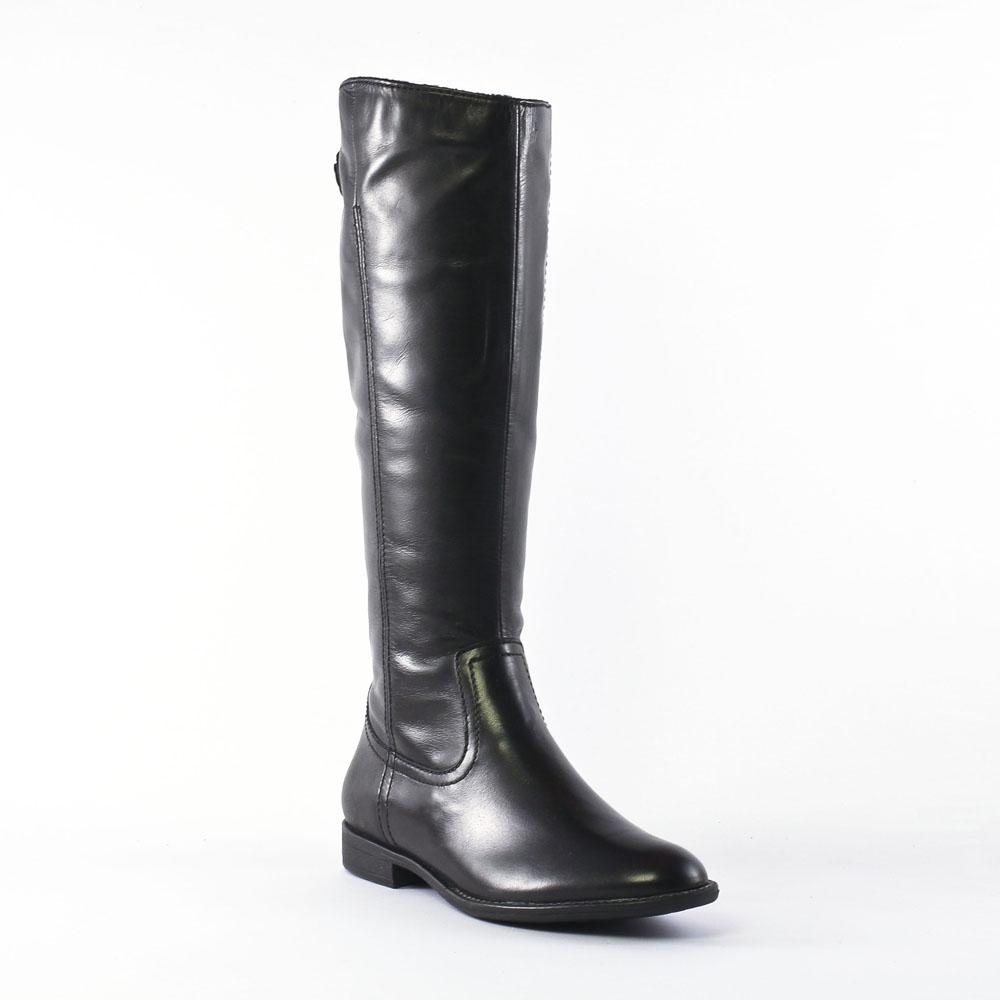 tamaris 25546 black botte cavali res noir automne hiver chez trois par 3. Black Bedroom Furniture Sets. Home Design Ideas