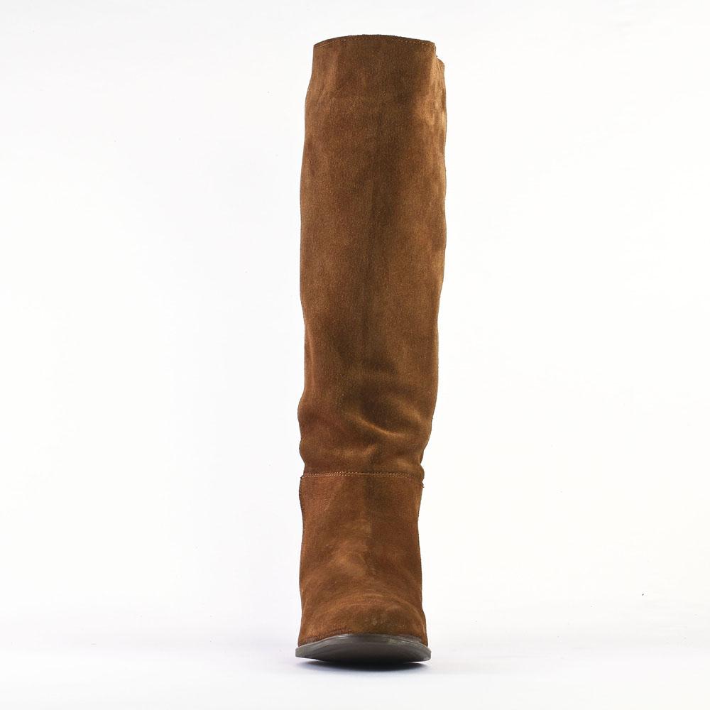 bottes marron mode femme automne hiver vue 6