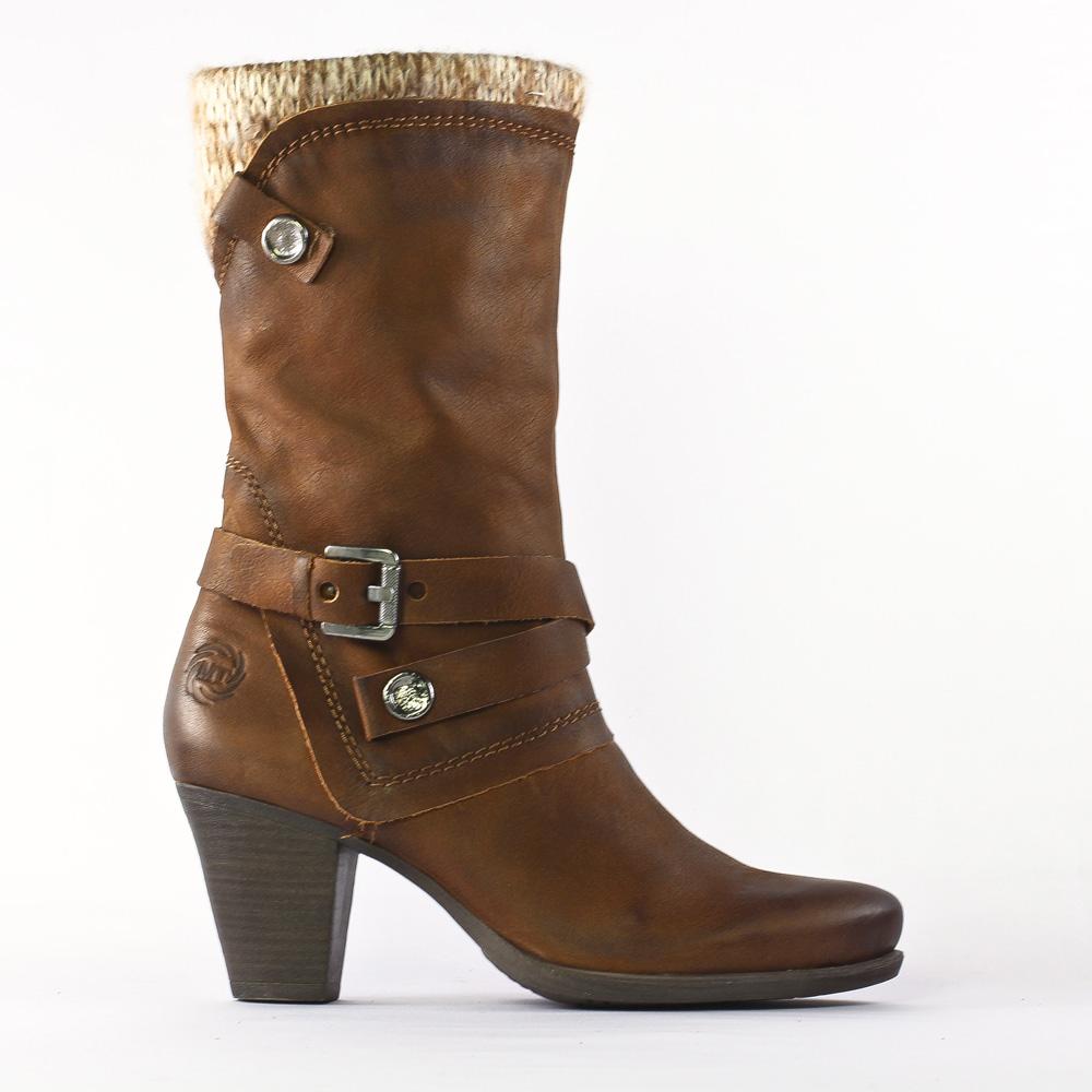 marco tozzi 25370 chestnut | bottes marron automne hiver chez