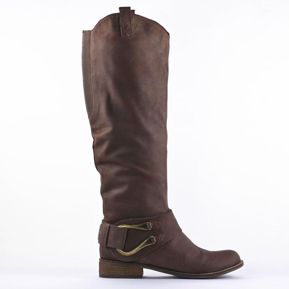 spm niagara marrone | bottes marron automne hiver chez trois par 3