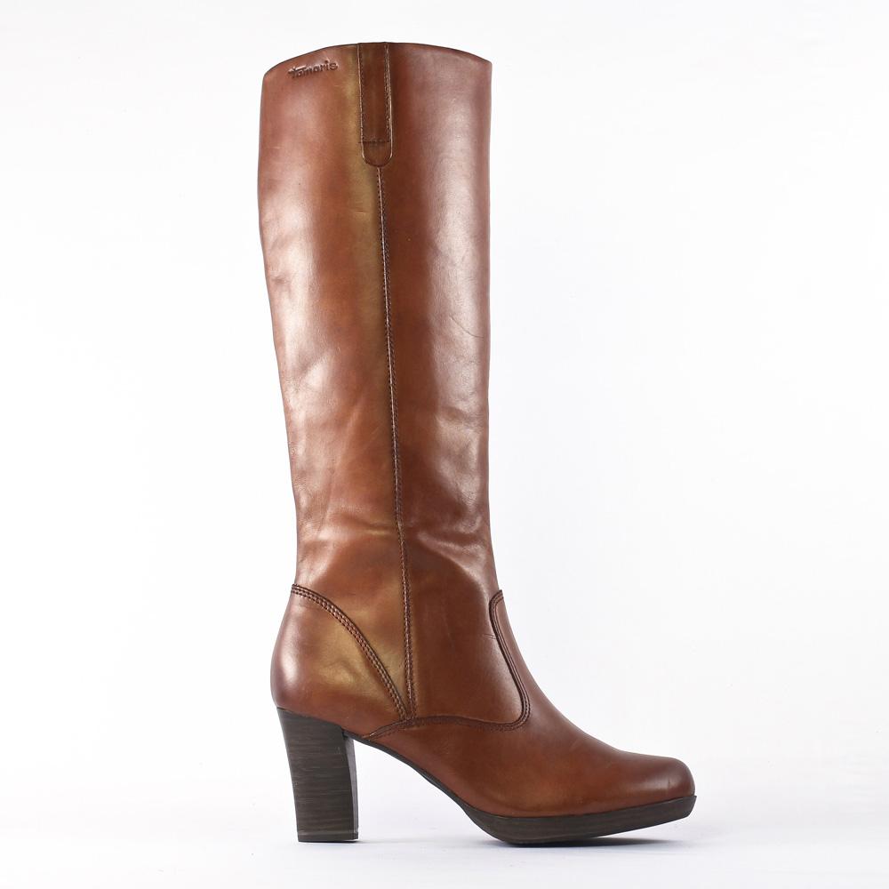 bottes marron mode femme automne hiver vue 2