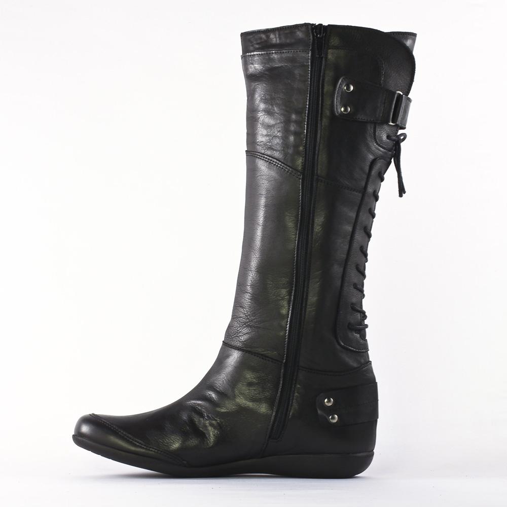 scarlatine 3386 noir bottes noir automne hiver chez trois par 3. Black Bedroom Furniture Sets. Home Design Ideas