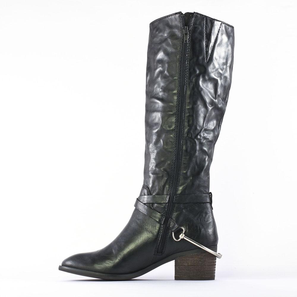 spm elgin black bottes noir automne hiver chez trois par 3. Black Bedroom Furniture Sets. Home Design Ideas