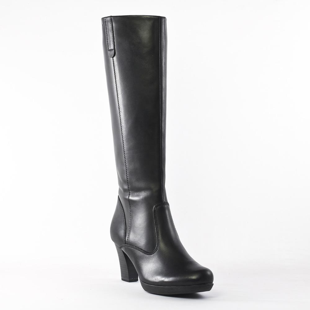 tamaris 25812 cuir black bottes noir automne hiver chez trois par 3. Black Bedroom Furniture Sets. Home Design Ideas