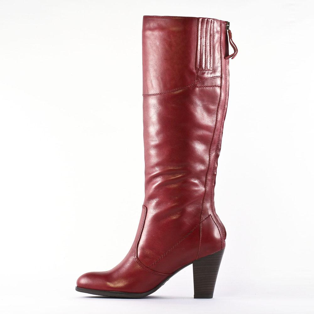 tamaris 25575 scarlet | bottes rouge automne hiver chez trois par 3