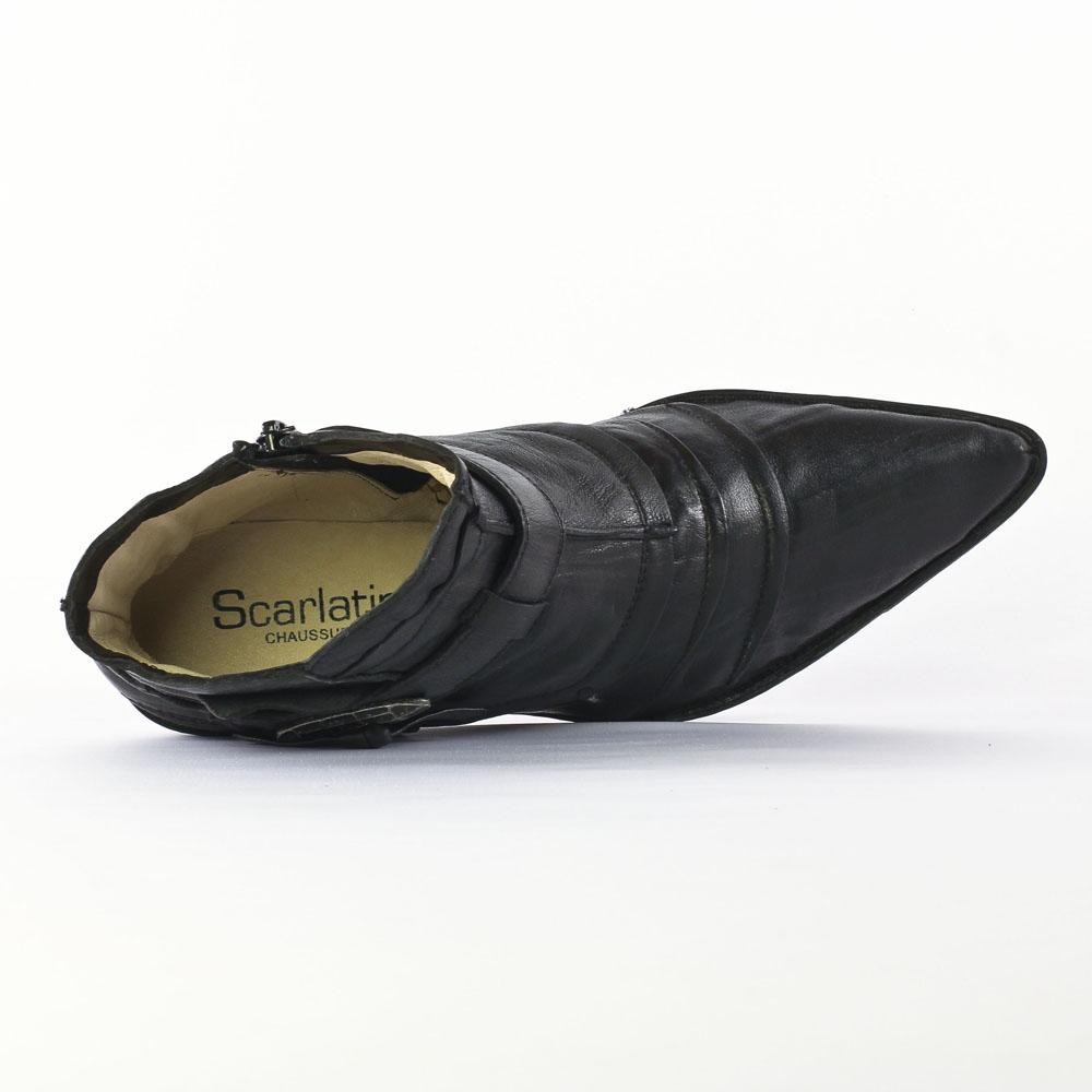 fugitive fanta veau noir bottines noir automne hiver. Black Bedroom Furniture Sets. Home Design Ideas