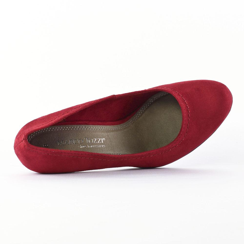 marco tozzi 22401 cranberry escarpins rouge automne hiver chez trois par 3. Black Bedroom Furniture Sets. Home Design Ideas
