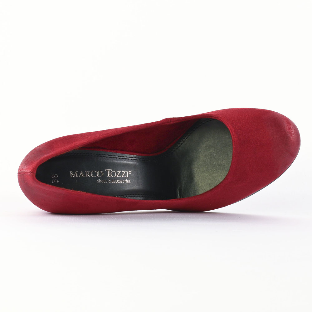 marco tozzi 22405 cranberry escarpins rouge automne hiver chez trois par 3. Black Bedroom Furniture Sets. Home Design Ideas