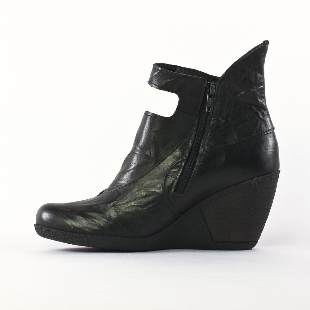 design professionnel en stock bonne réputation Scarlatine 3216 Noir | low boot compensées noir automne ...