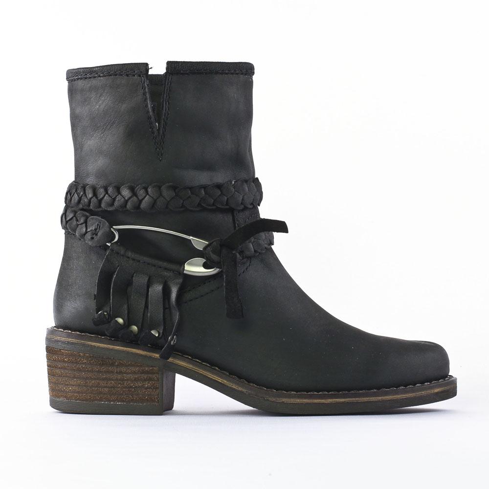 Spm Abbotsford Black | mi bottes noir automne hiver chez