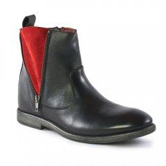 boots noir rouge: même style de chaussures en ligne pour hommes que les Ambitious