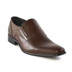 Chaussures homme hiver 2012 - mocassins yann bolligen marron