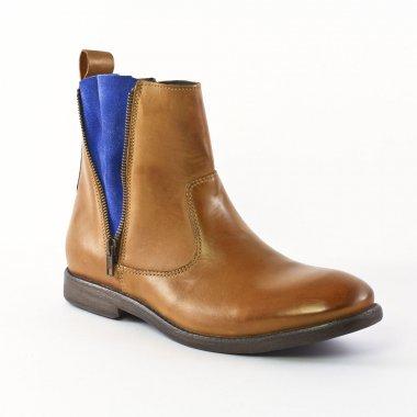 Chaussures Montantes Ambitious 3629 Blu griffée Ambitious, vue principale de la chaussure homme