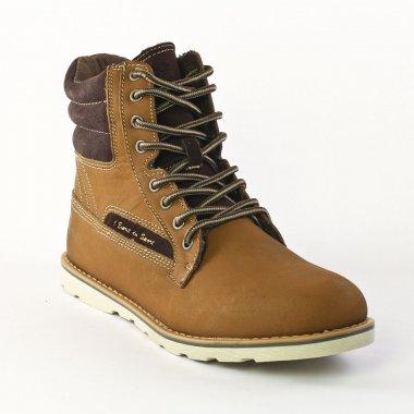 Chaussures Montantes Patrick 225814 Brown, vue principale de la chaussure homme