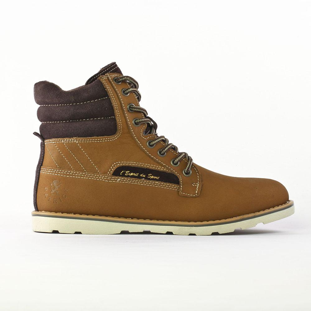 1a63b2ee575 chaussures montantes marron mode homme automne hiver vue 2