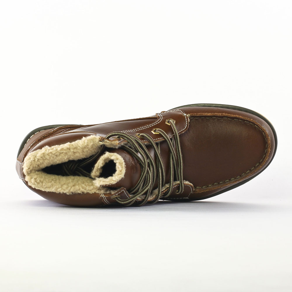 f95bbff8b27 chaussures montantes marron mode homme automne hiver vue 4