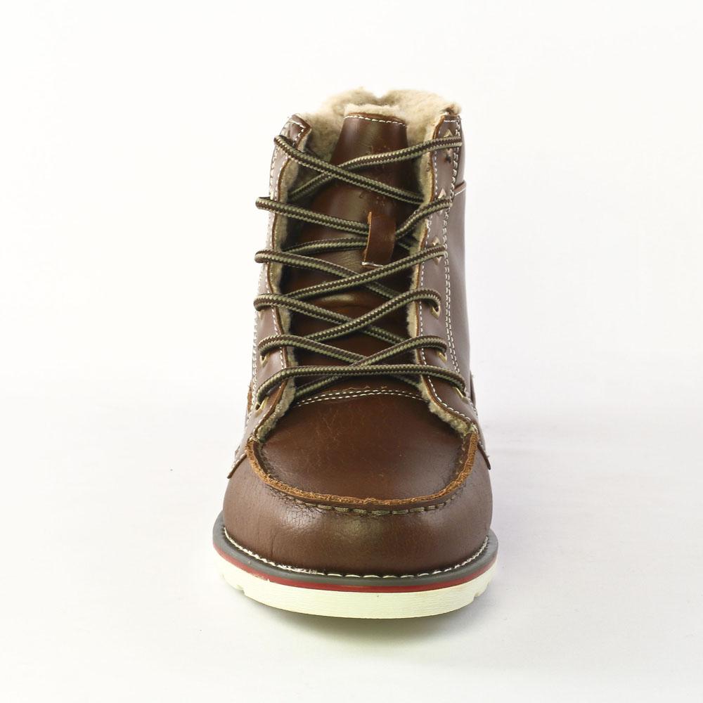 224eb84e1e6 chaussures montantes marron mode homme automne hiver vue 6