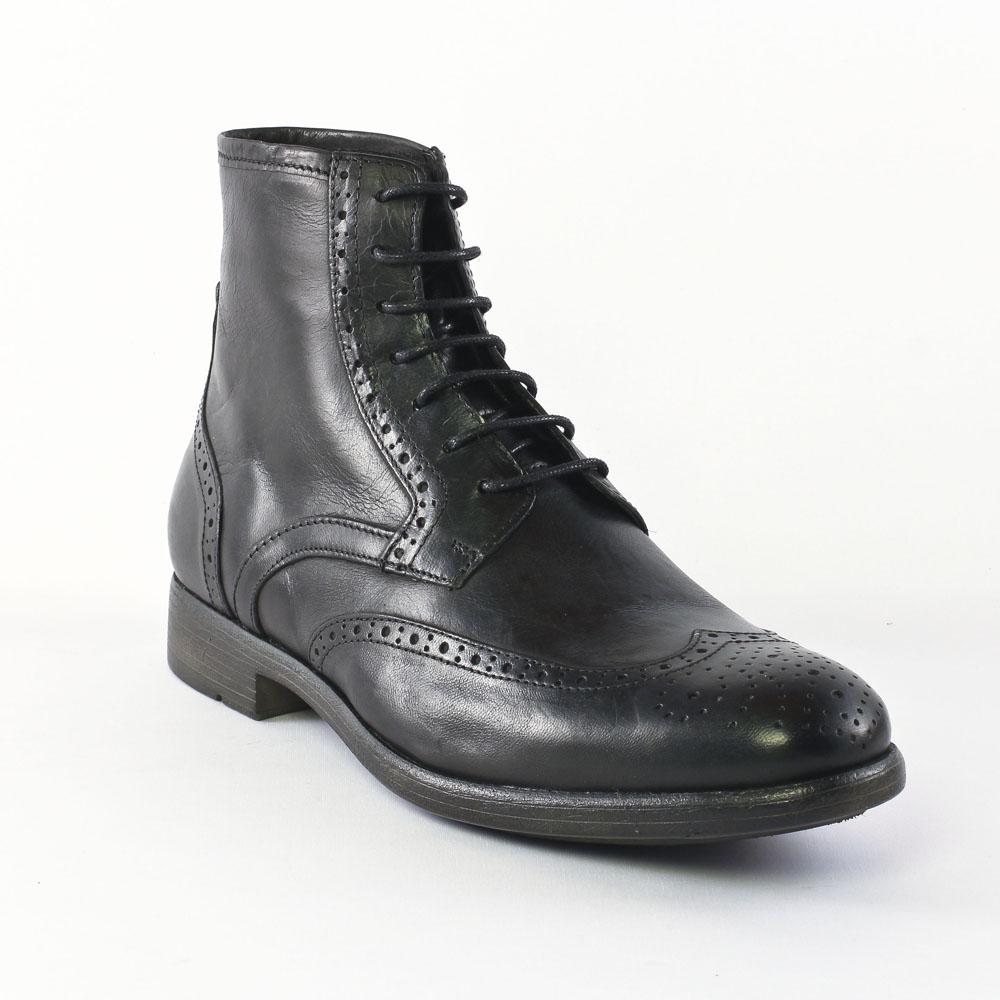 ambitious 3490 black chaussure montantes noir automne hiver chez trois par 3. Black Bedroom Furniture Sets. Home Design Ideas