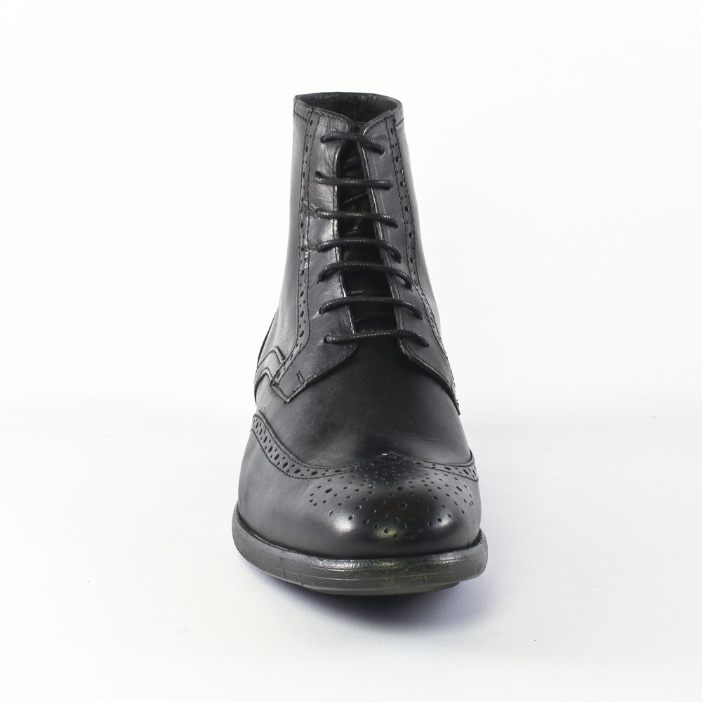 ambitious 3490 black chaussure montantes noir automne. Black Bedroom Furniture Sets. Home Design Ideas