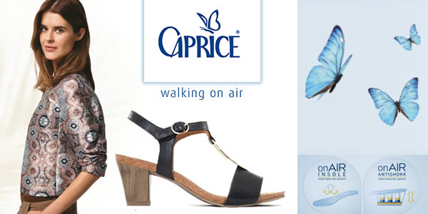 caprice chaussures confort femme